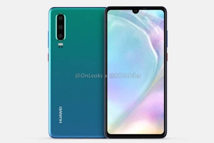 vídeo do Huawei P30