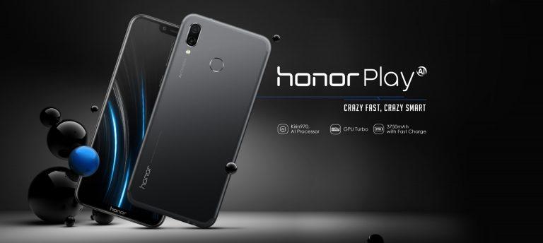 Honor Play com o SoC Kirin 970 e 4GB de memória RAM por 229€!