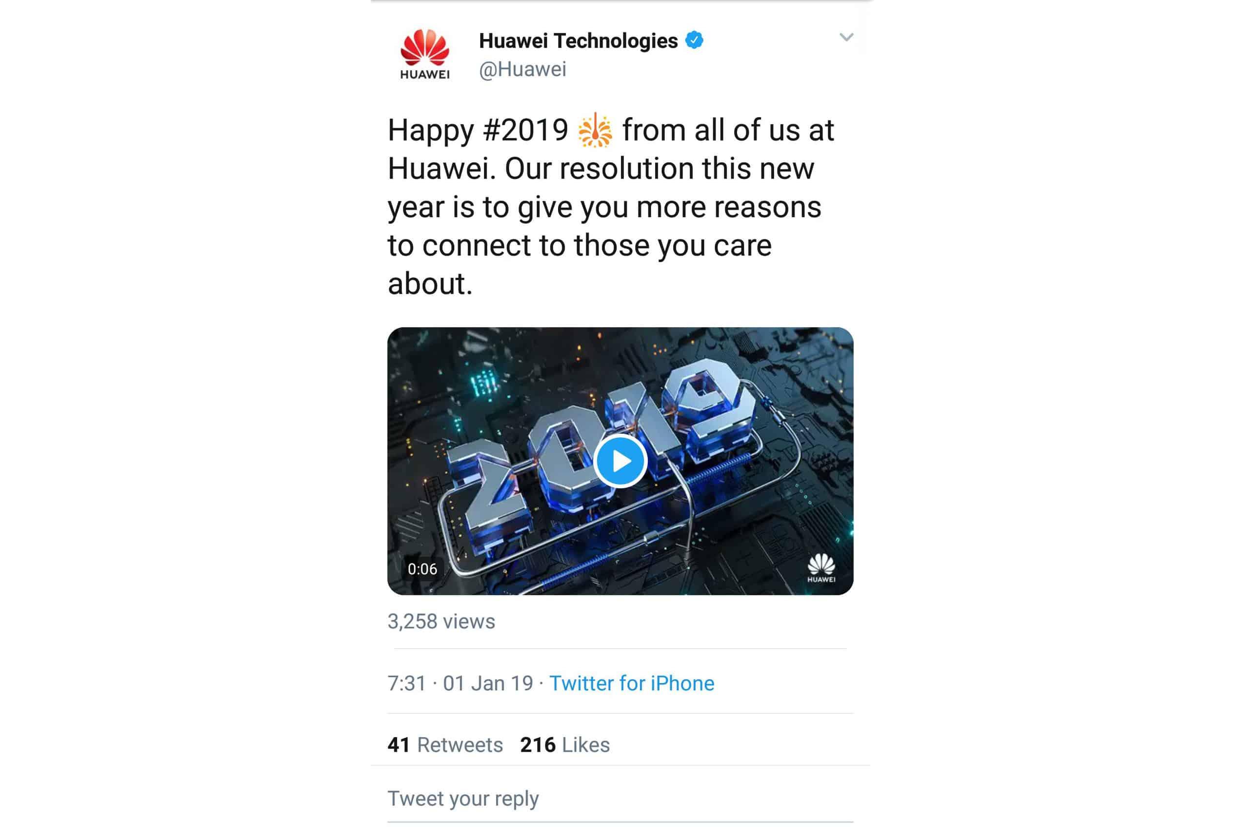 Huawei despromoveu