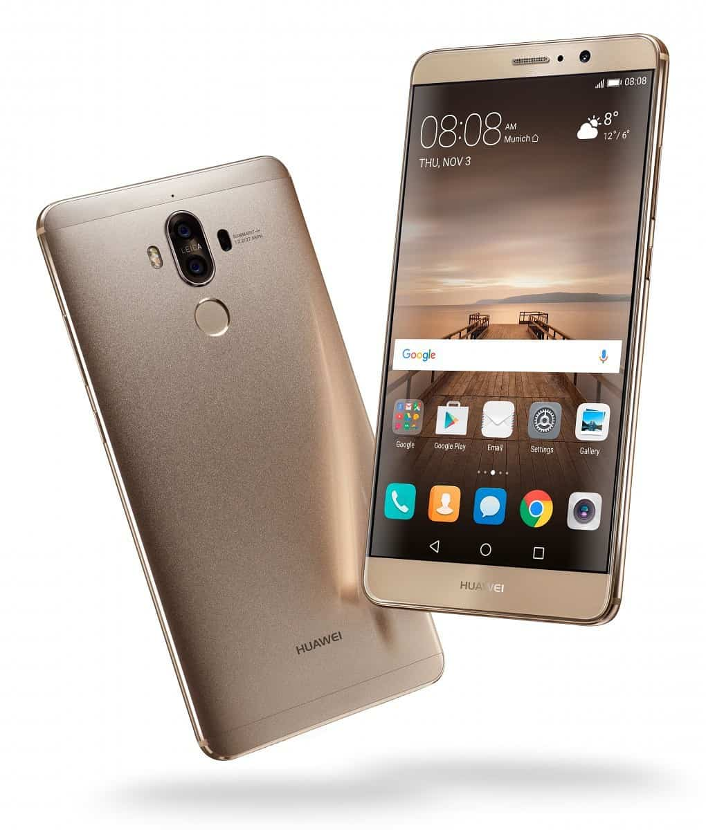 Pie para o Huawei Mate 9