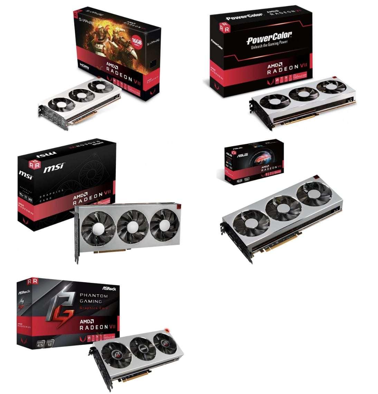 benchmarks da AMD Radeon VII