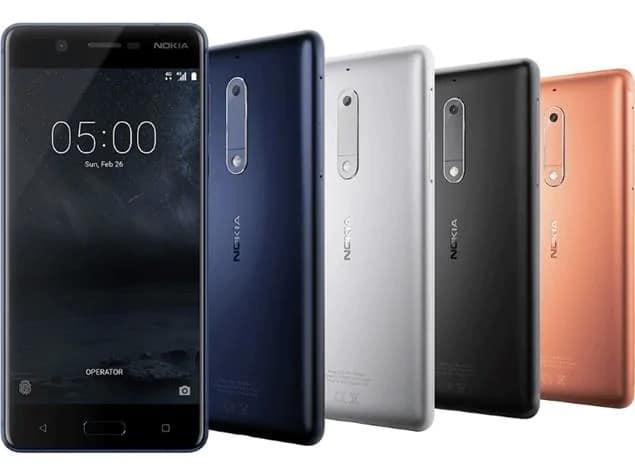 Pie para o Nokia 5