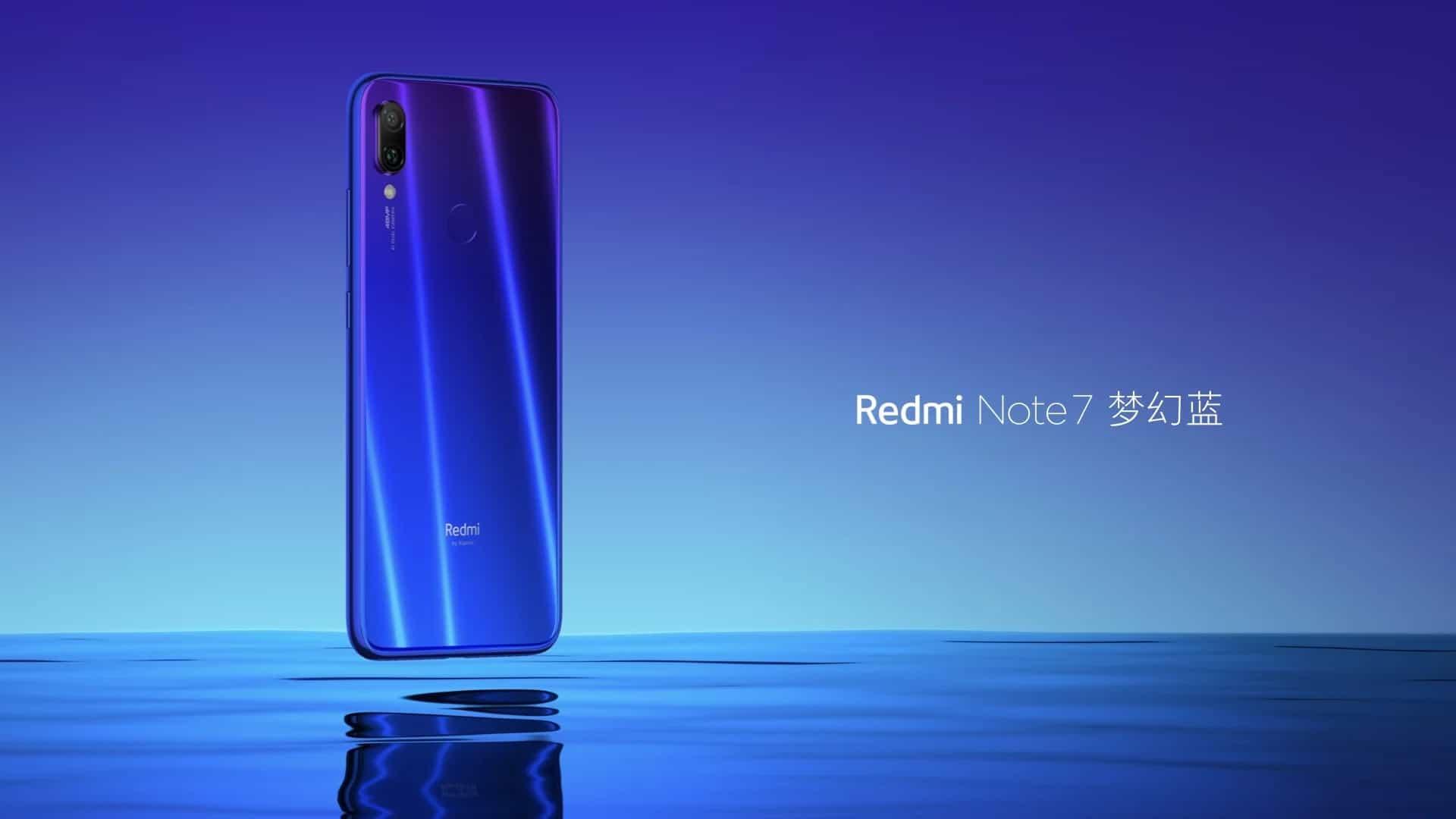 Redmi Note 7 foi