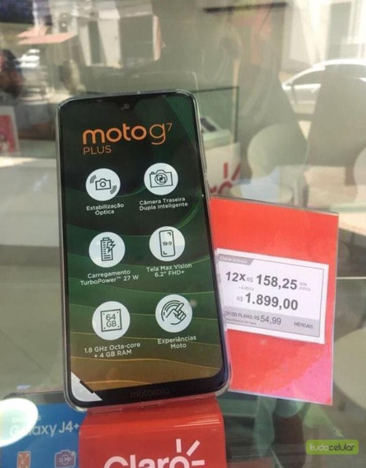 Moto G7 chega