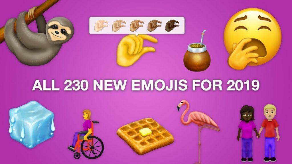 novos emojis