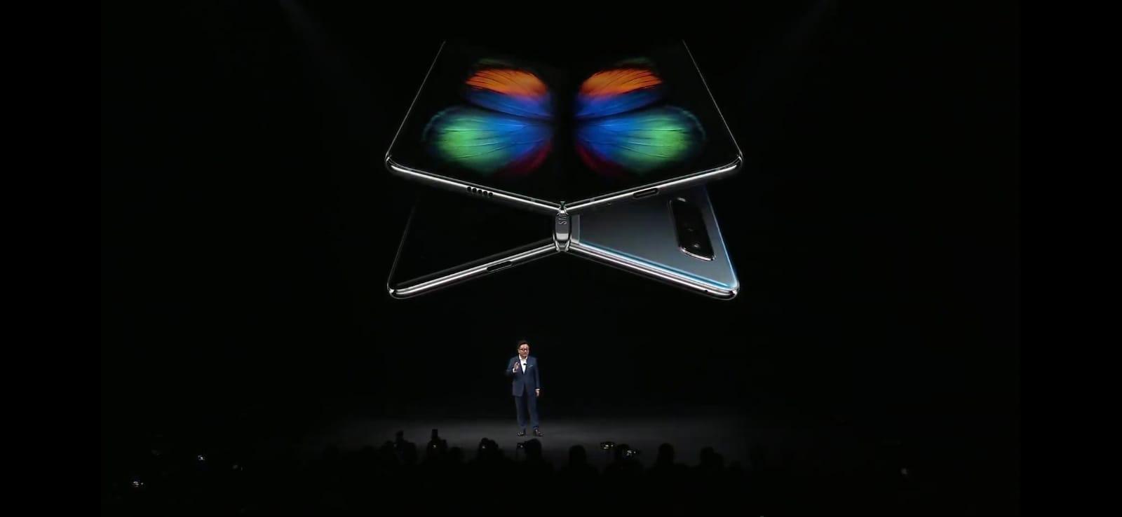 Samsung Galaxy Fold no