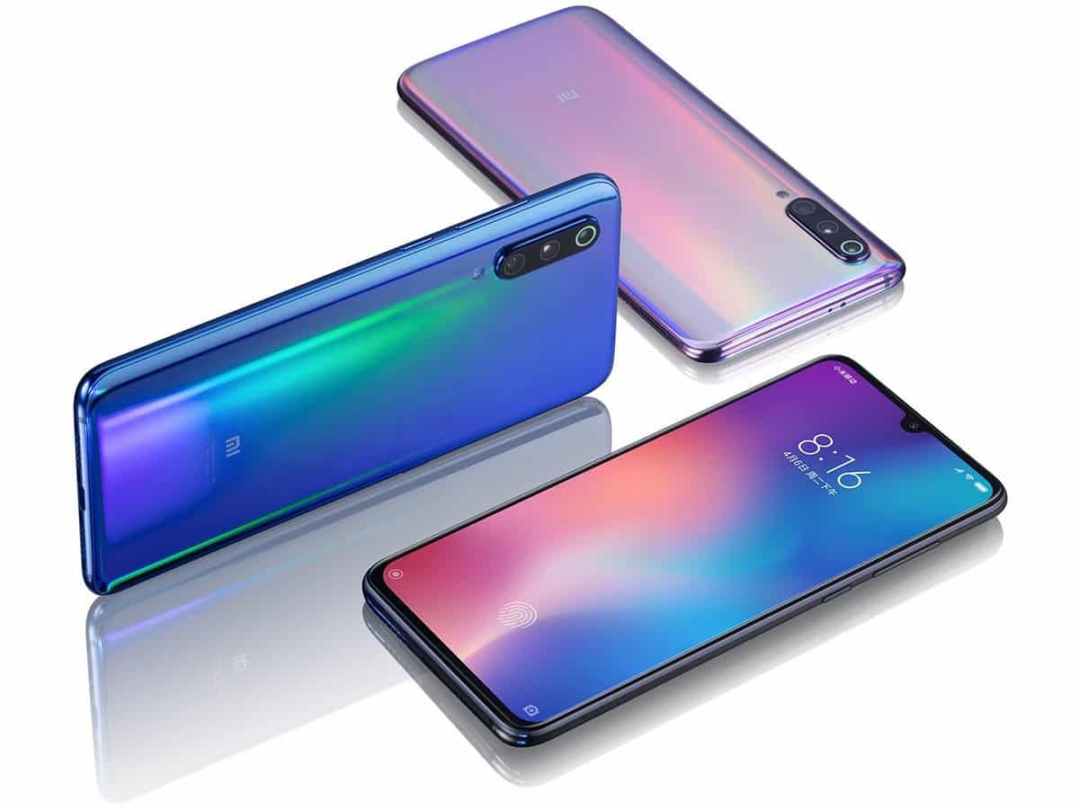 Xiaomi Mi 9 vão