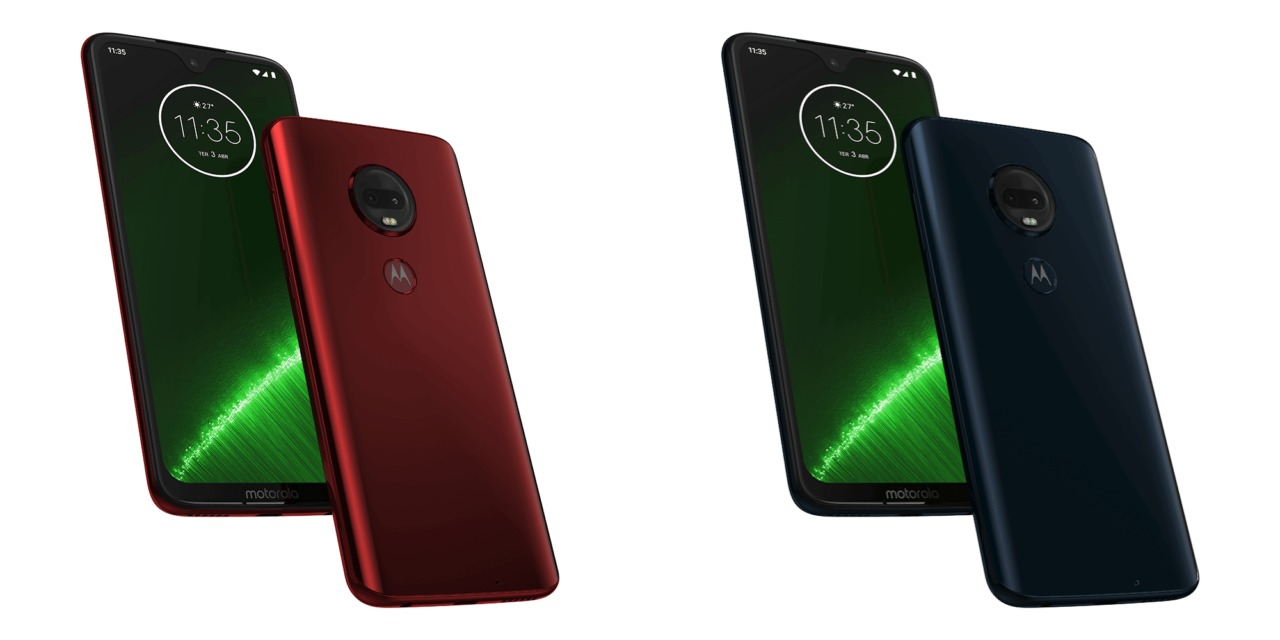 Android 10 Moto G7