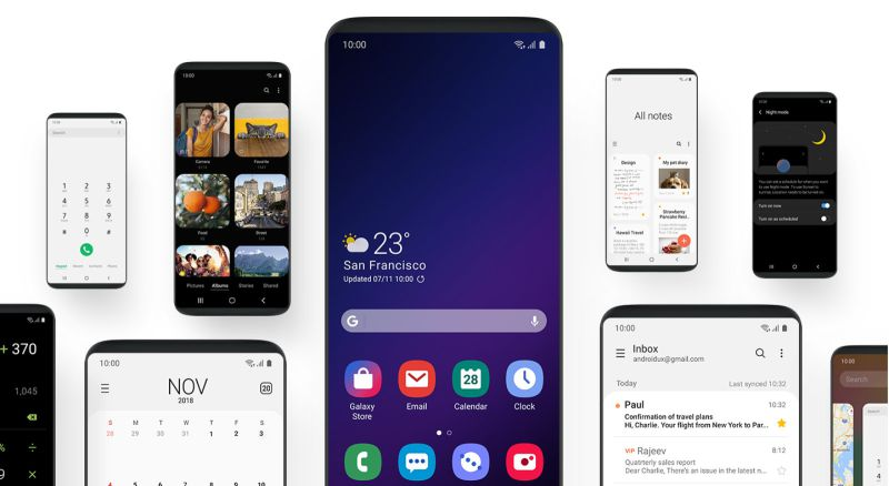 Android Pie para o Galaxy S8