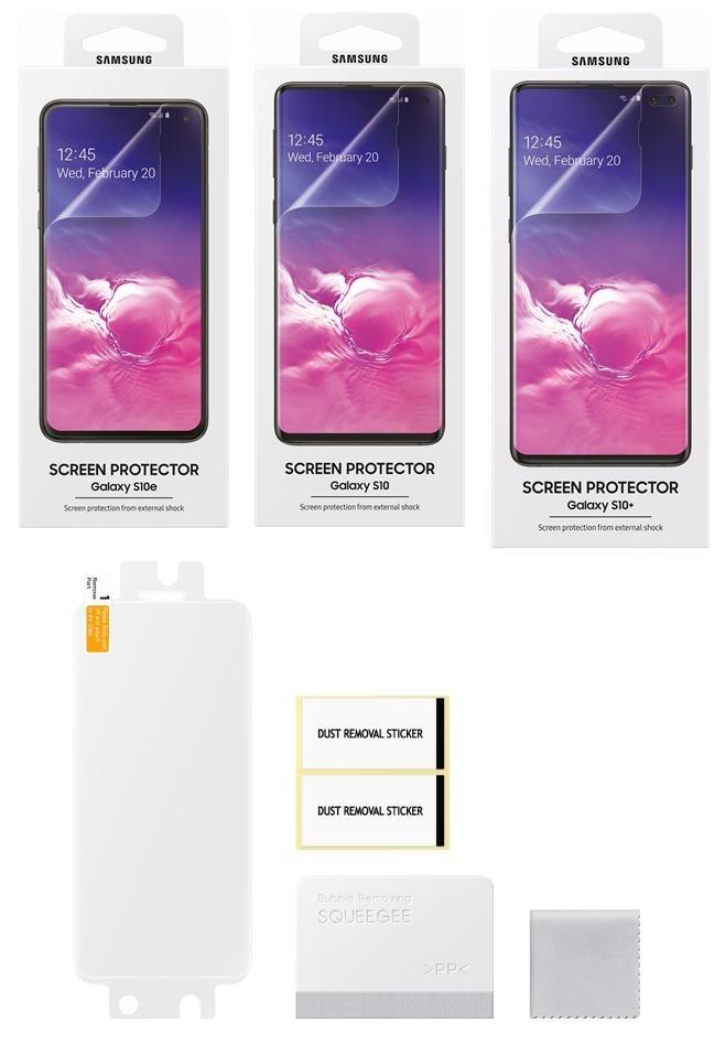 película no Samsung Galaxy S10