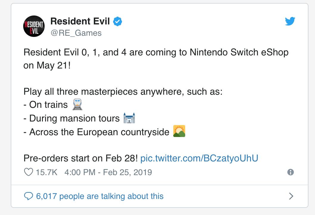 da Nintendo Switch