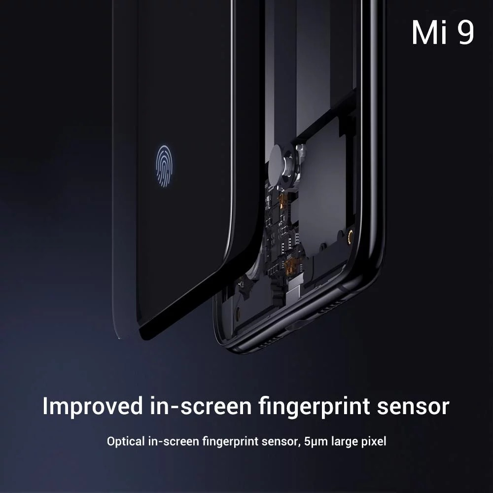 Ecrã do Xiaomi Mi 9
