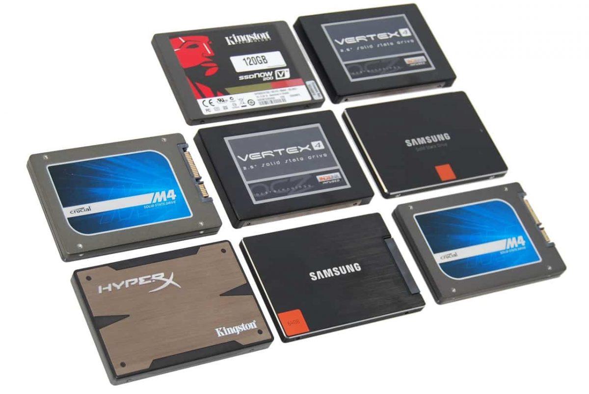 SSD de 1TB Soluções de armazenamento