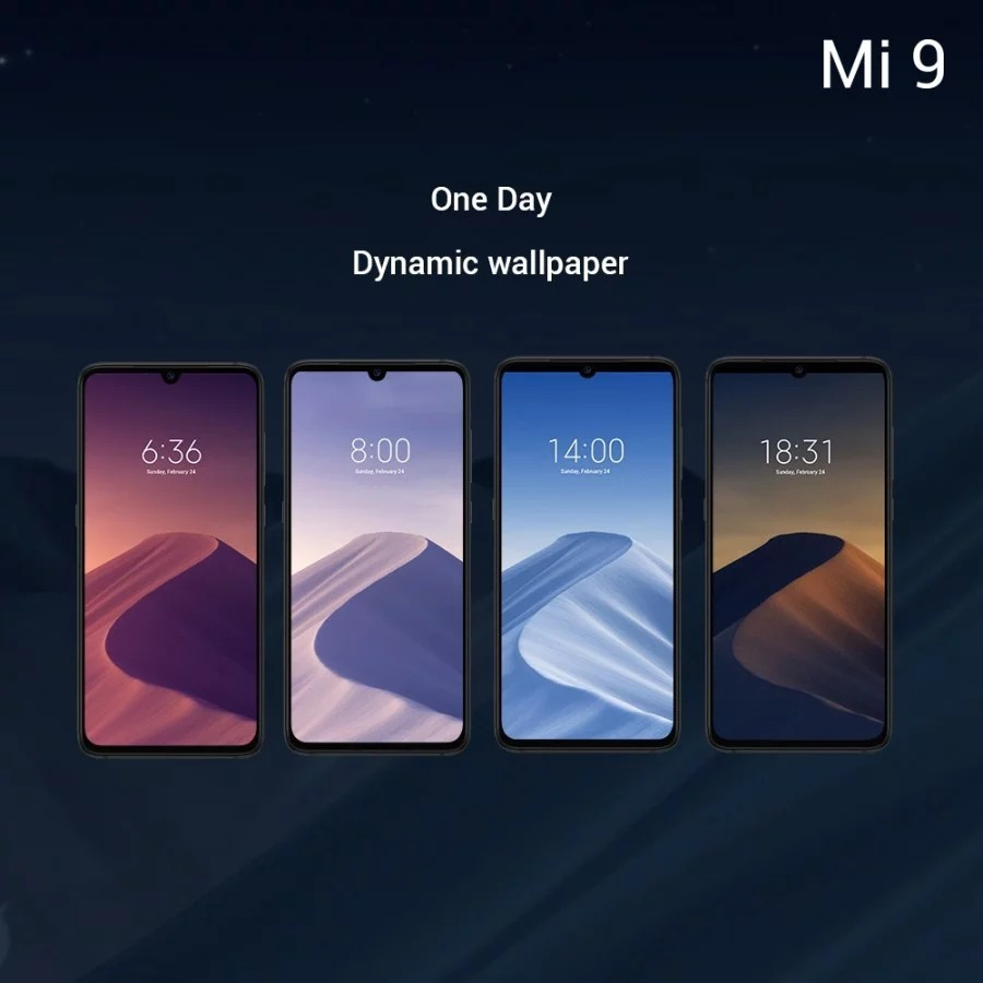 Xiaomi Mi 9 tem