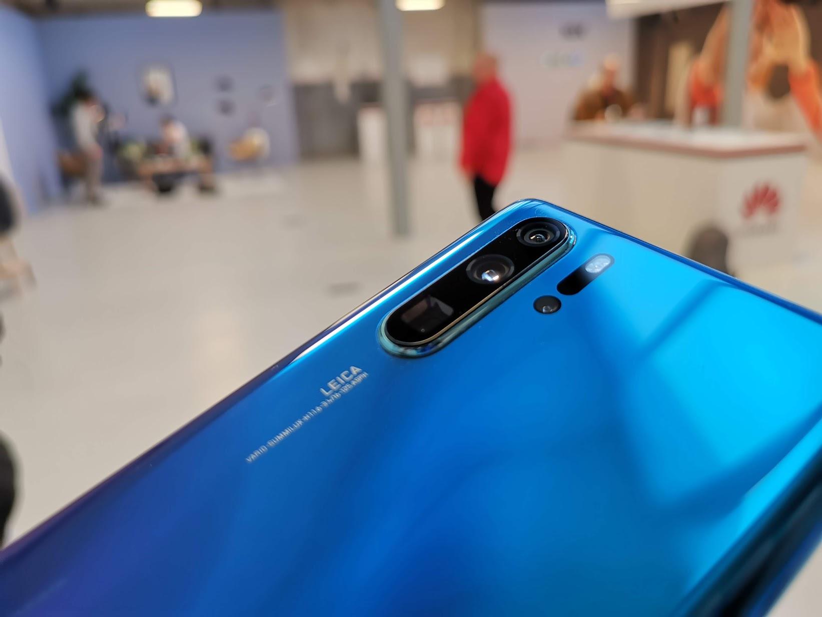 especificações do Huawei P30/Pro
