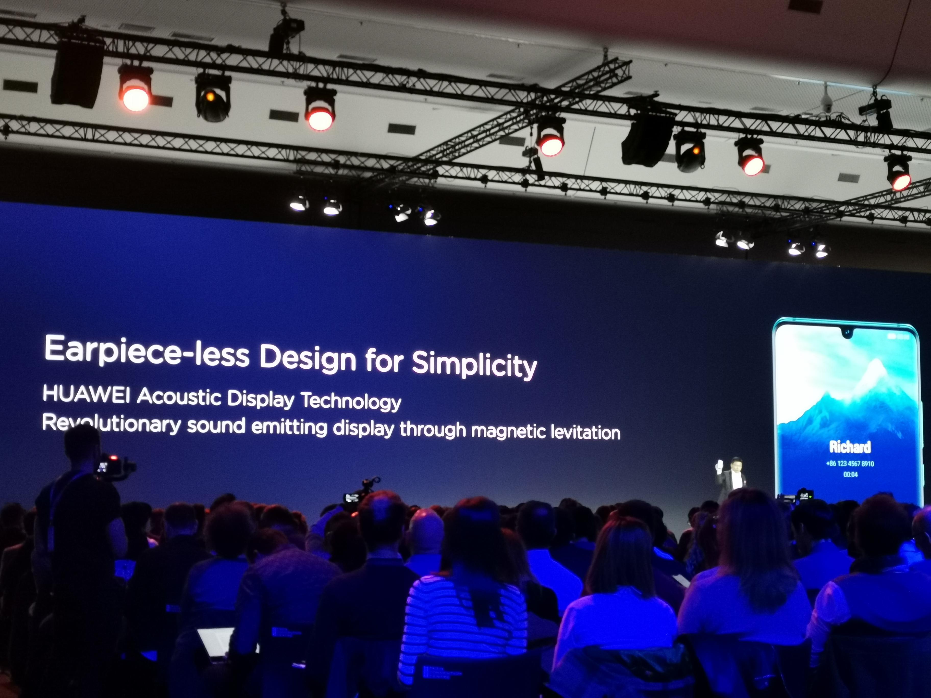 lançamento dos Huawei P30