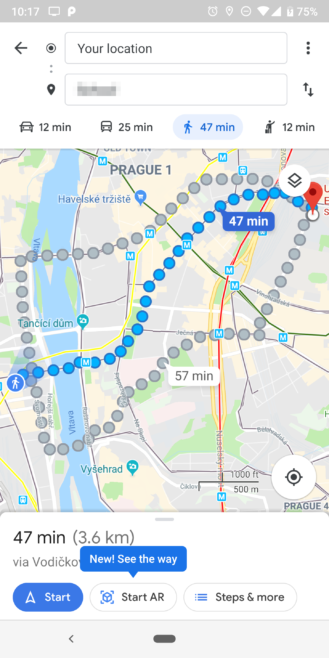 novidade no Google Maps