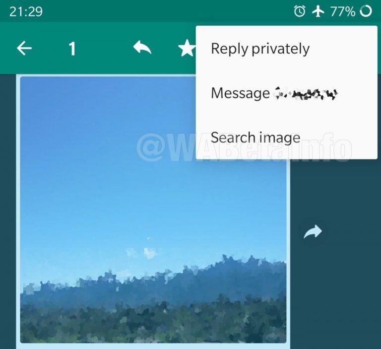 WhatsApp não