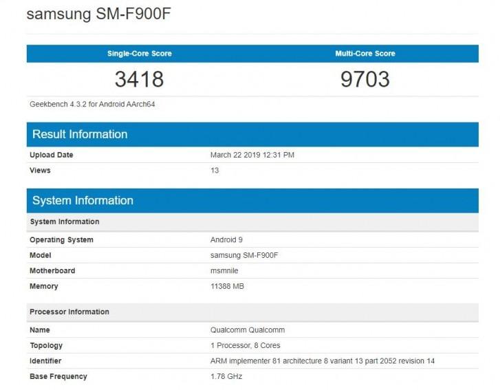 Samsung Galaxy Fold causa