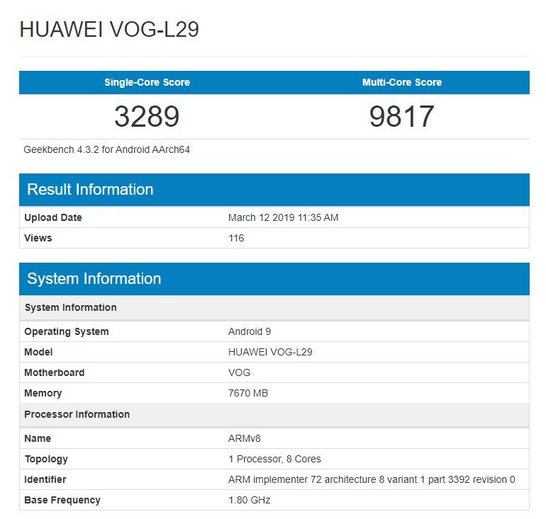 Huawei P30 Pro no