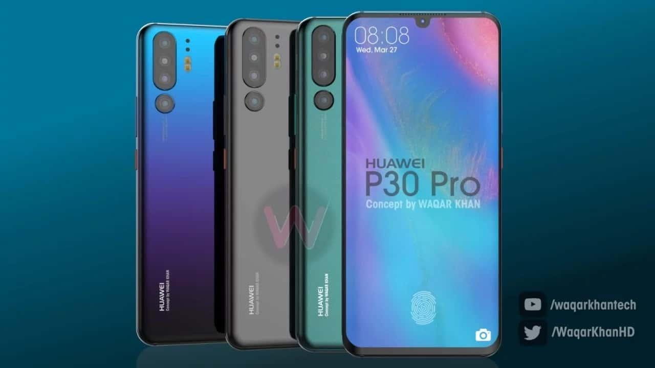 leaks do Huawei P30