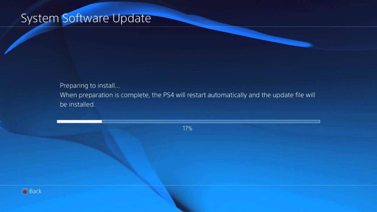 PS4 update