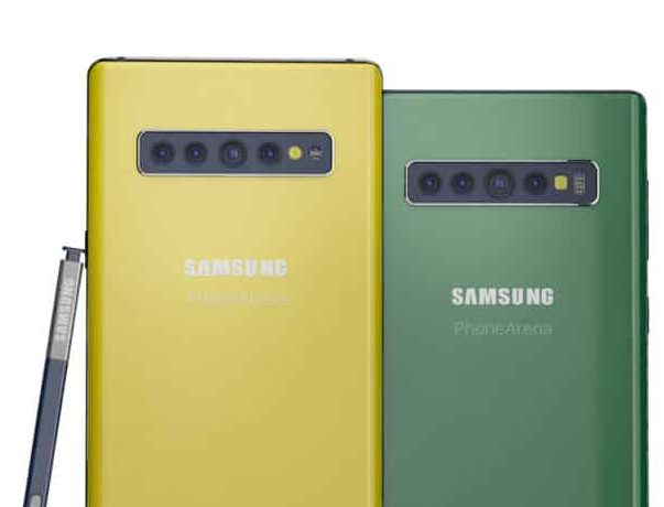 do Galaxy Note 10