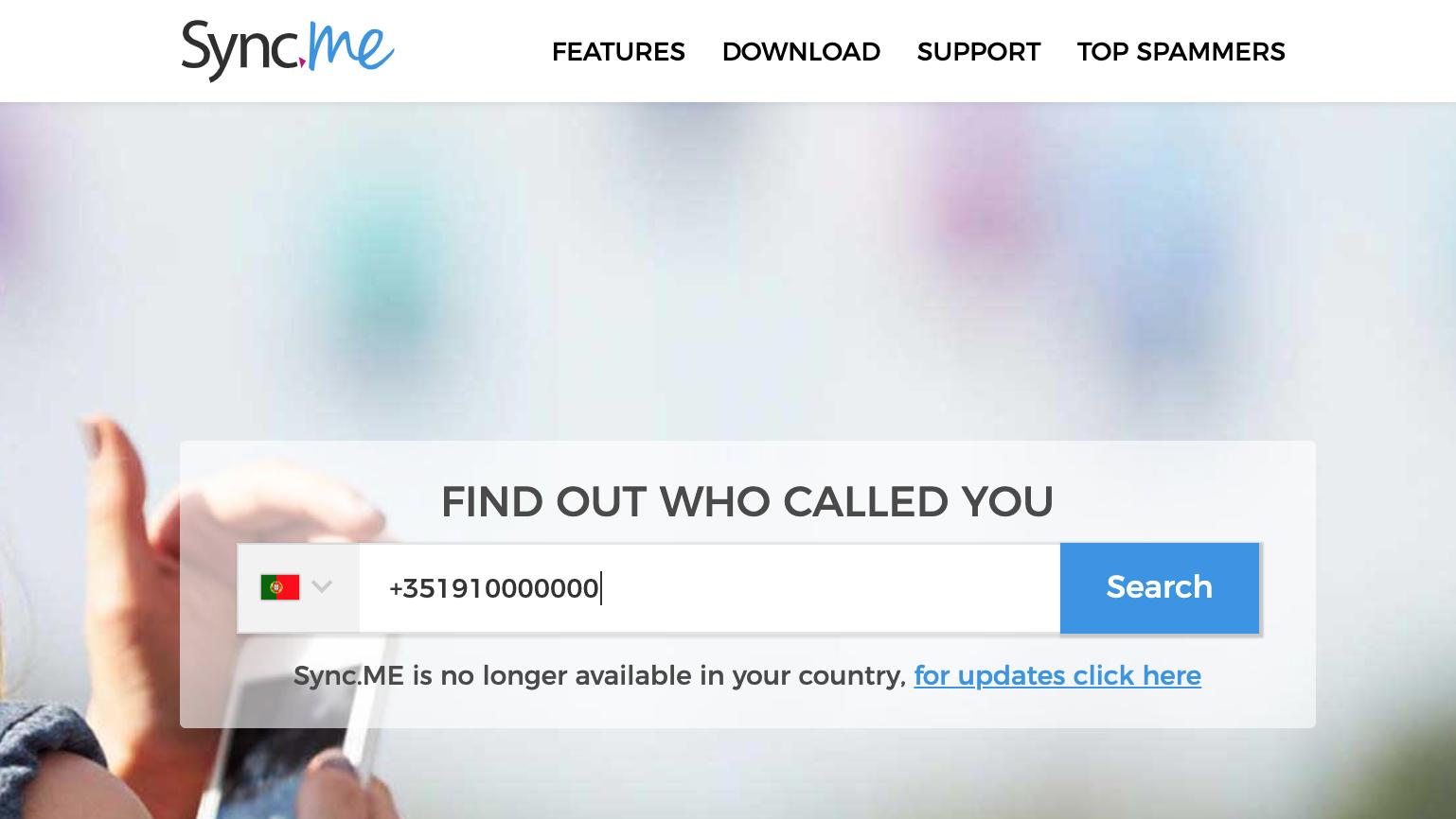 identificação de chamadas