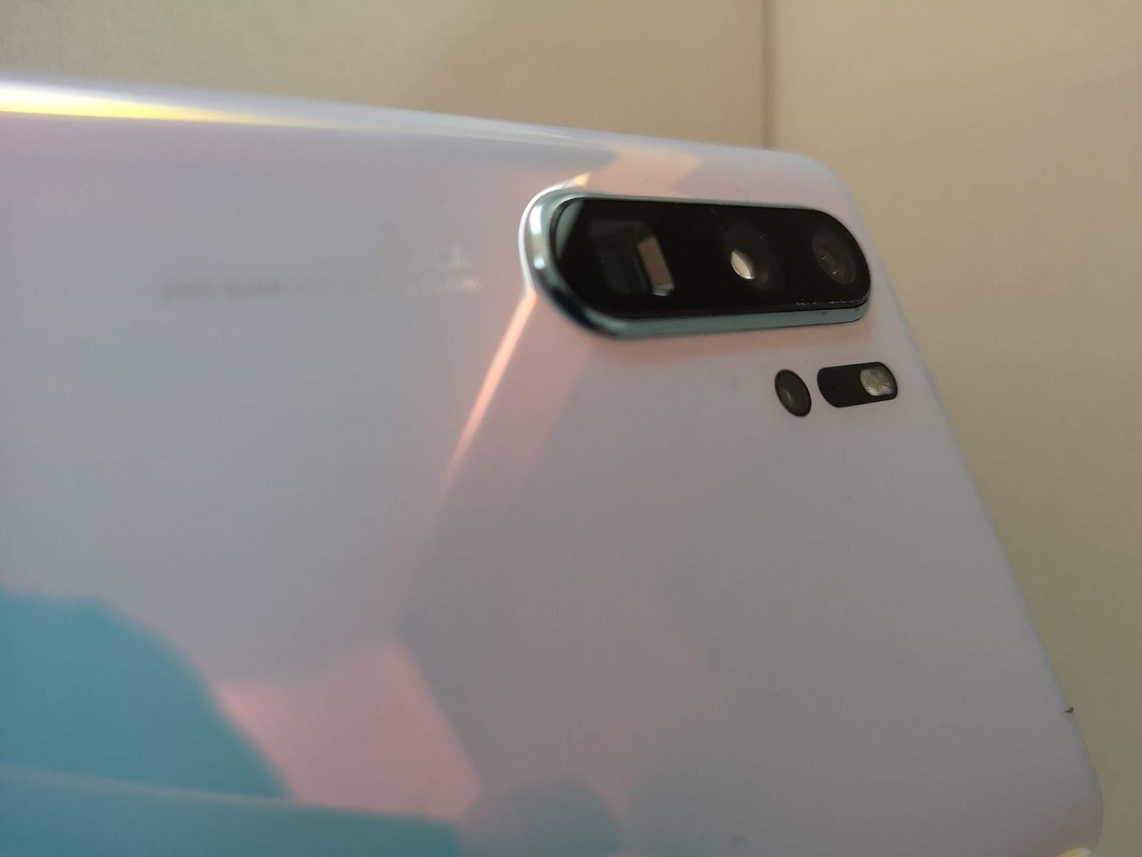 A Huawei está por