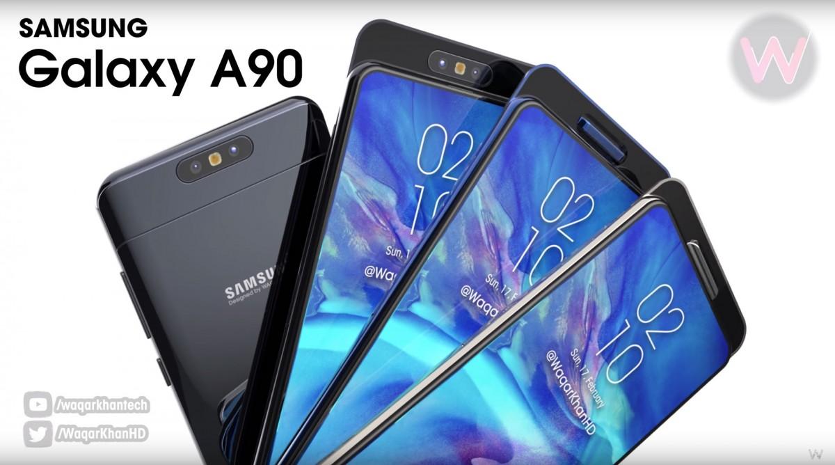 Galaxy A90 é