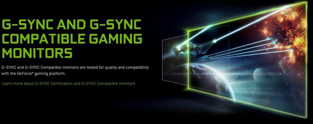 lista G-Sync