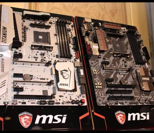 Motherboard MSI X370