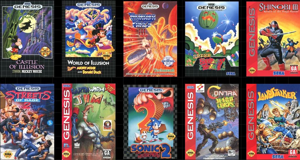 Sega Genesis Mini: