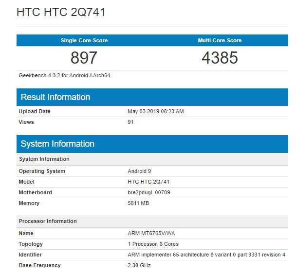 HTC prepara