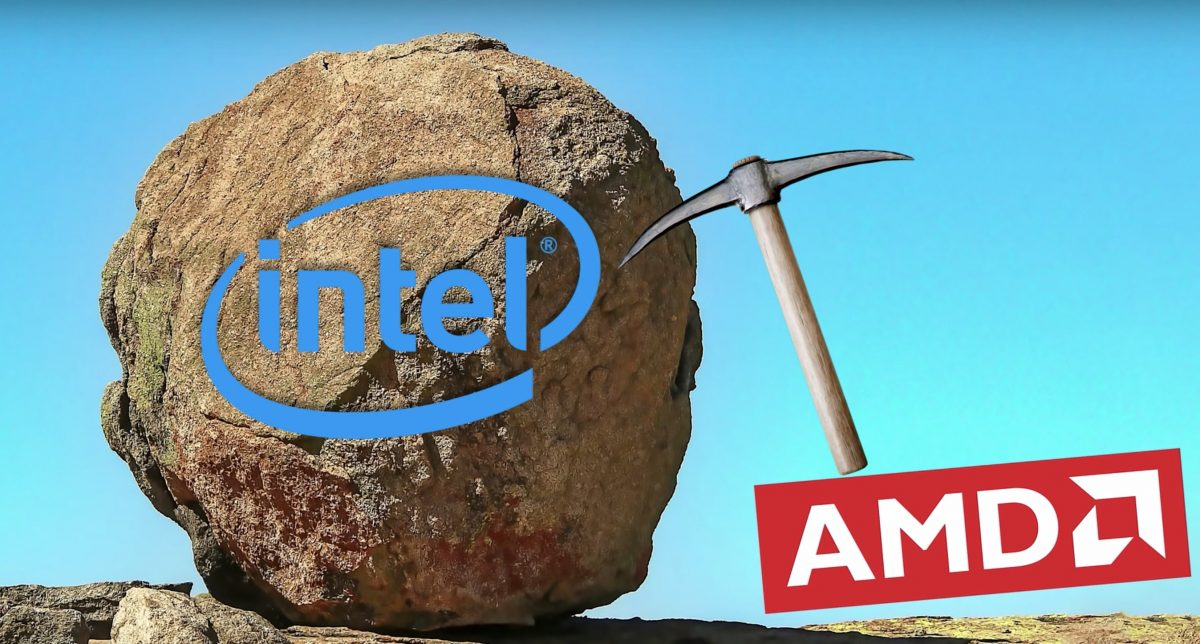 AMD continues to steal Intel's market sustainably