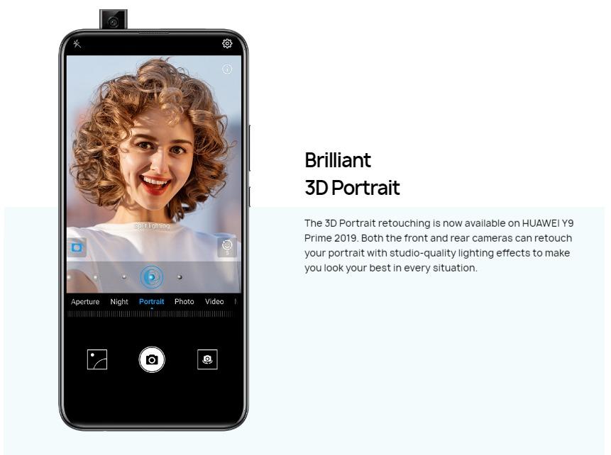 Huawei Y9 Prime 2019: