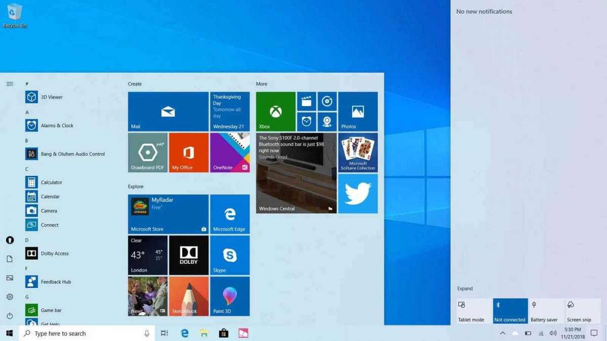 Windows 10 tem um, update do Windows 10