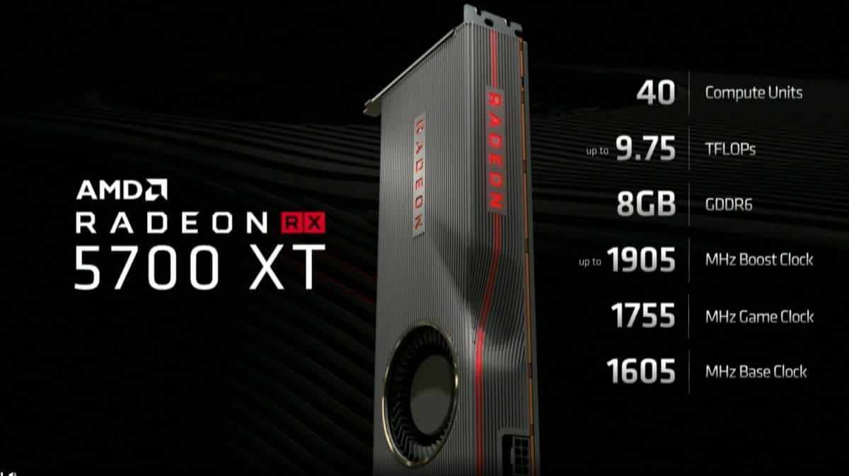 RX 5700 XT!