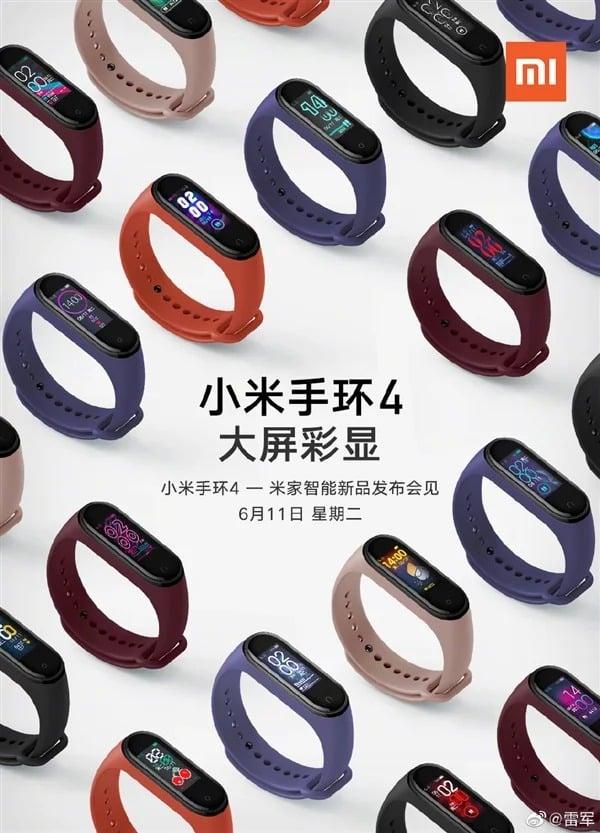 da Xiaomi Mi Band 4