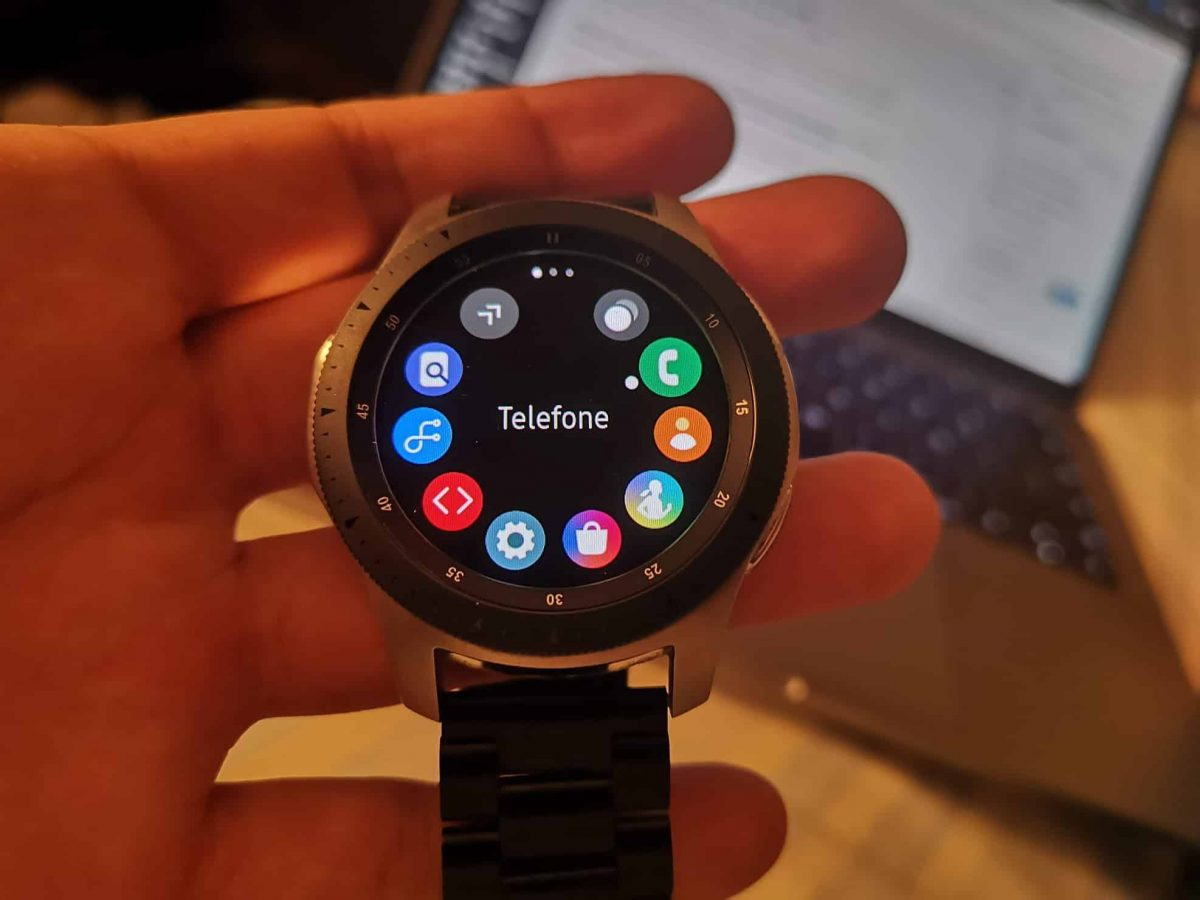 galaxy watch, um smartwatch