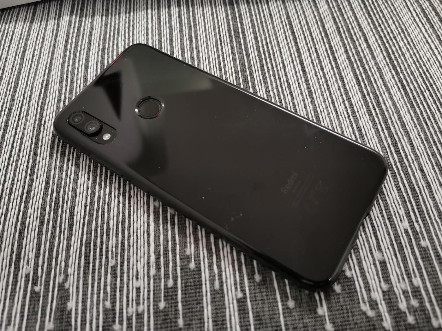 o Redmi Note 7
