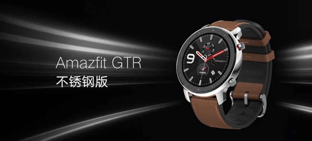 Amazfit GTR GTS