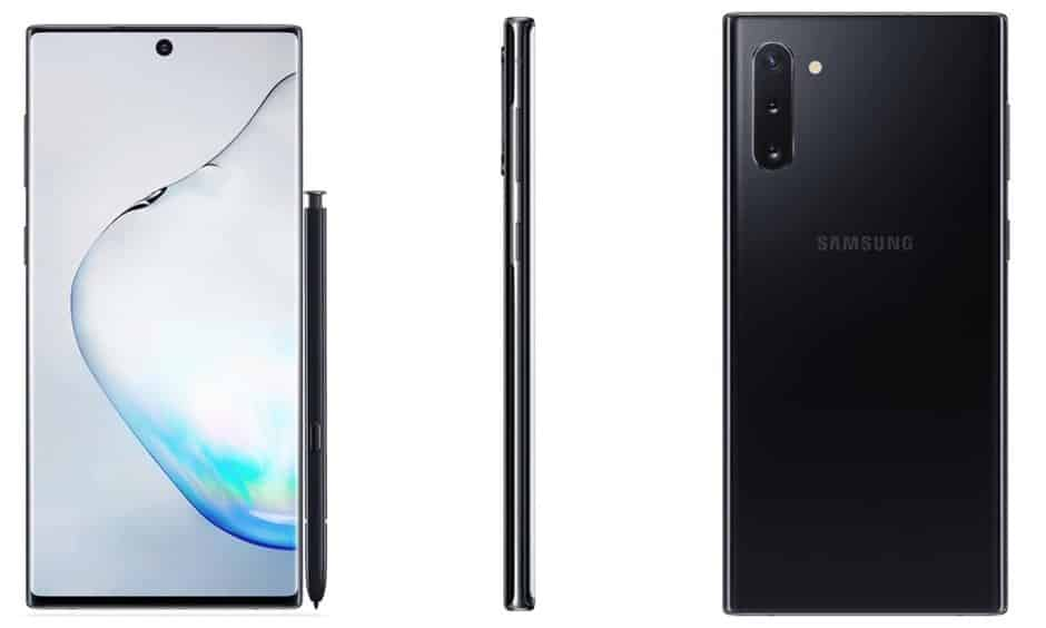 Samsung Galaxy Note 10: