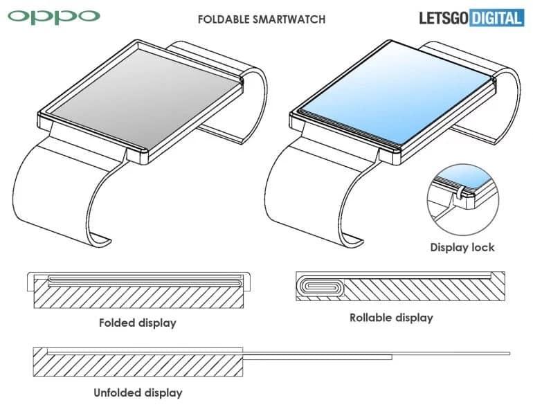 smartwatch dobrável