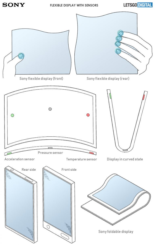 Sony foldable