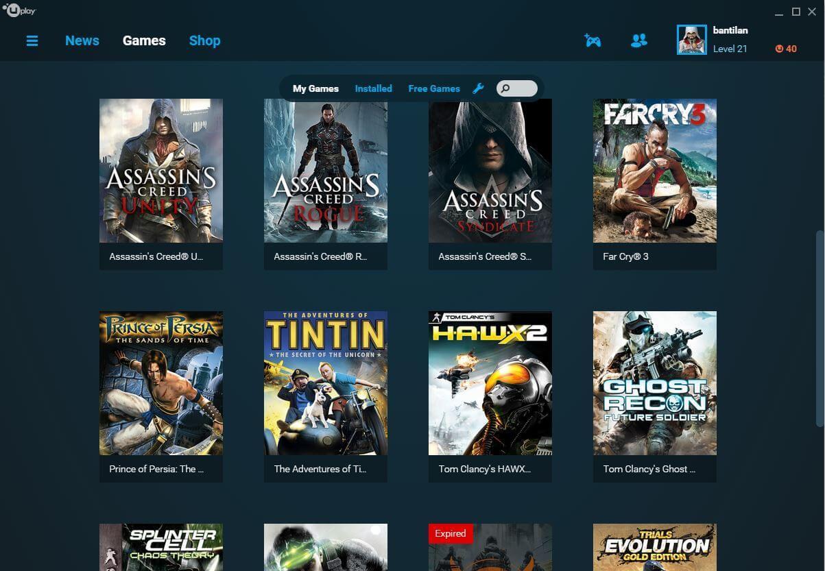 Novo serviço da Ubisoft
