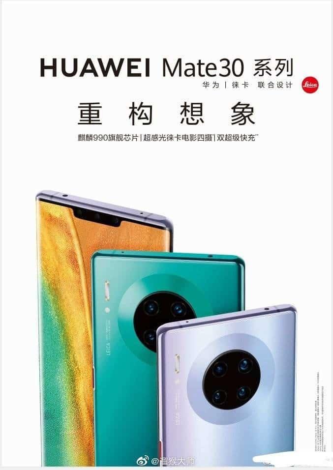 Huawei Mate 30 não