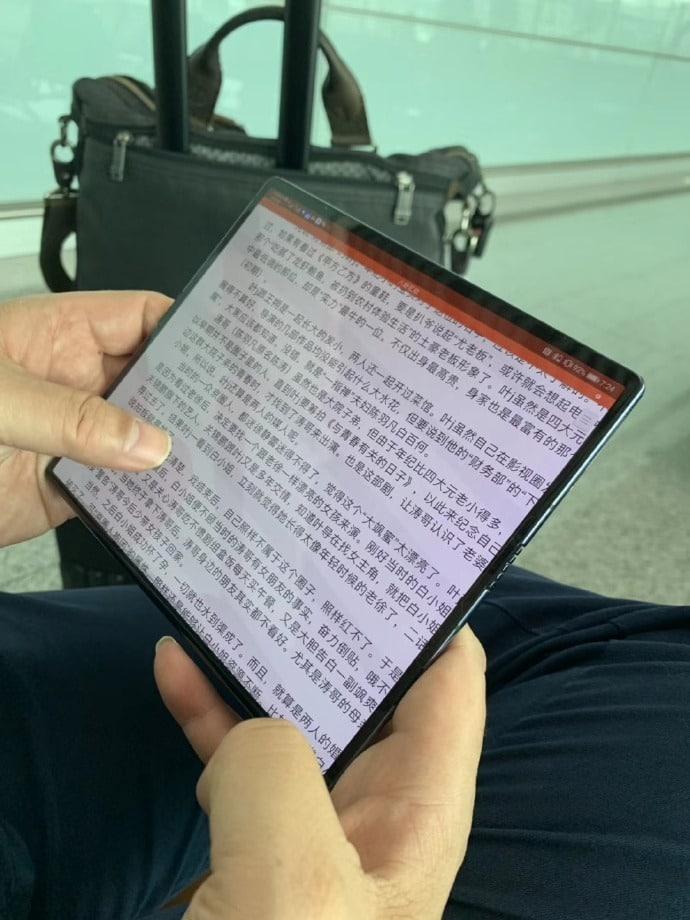 Huawei Mate X adiado
