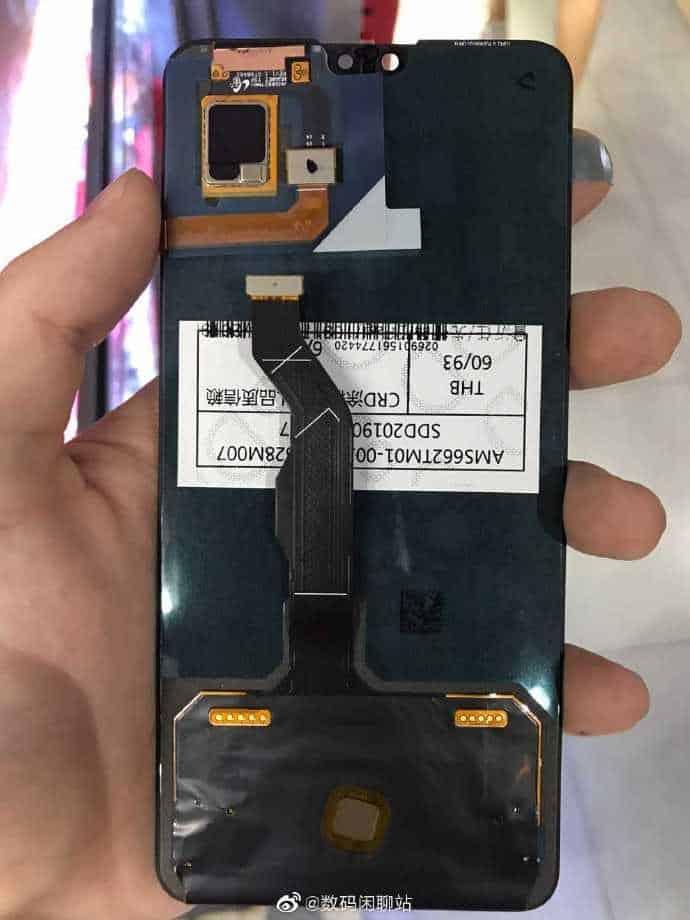 Ecrã do Huawei Mate 30