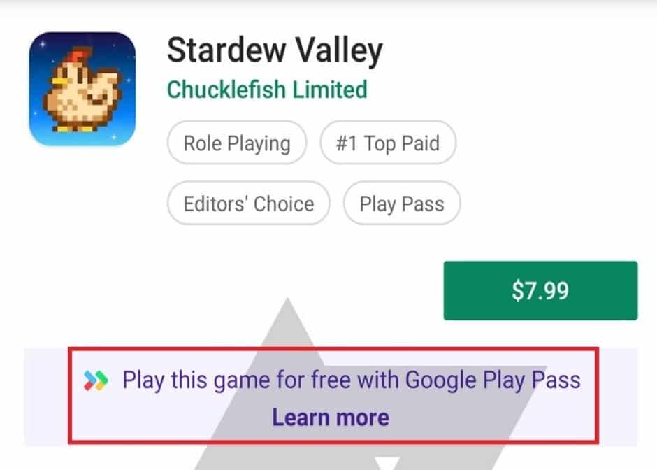 Google Play Pass Portugal